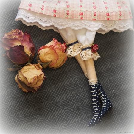 Тильда кукла Полина 45 см