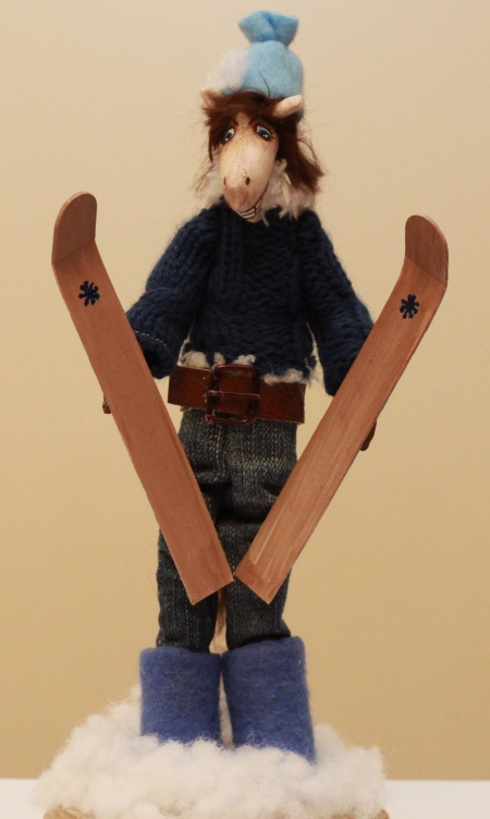 Лыжник Роберт 35 см
