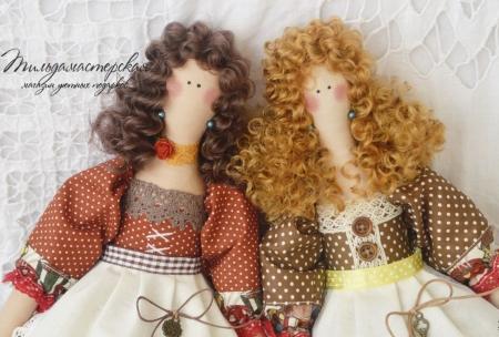 Кукла-Тильда Татьяна 37 см