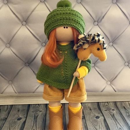 Светлана с лошадкой 30см