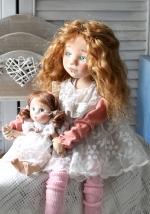 Милана с куколкой 40 см