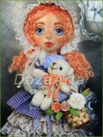 Коллекционная кукла Николь 40 см
