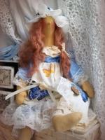 Ангел-сплюшка Лизавета 37 см