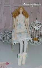 Тильда Мариэль - зимняя куколка 39 см