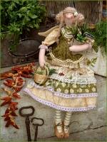 Тильда-фея Лавруша...Прованские Травы... 47 см