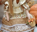 Тильда-ангел Октябрина 47 см