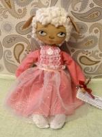 Куколка-овечка Мими 22 см