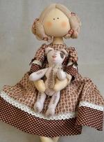 Коллекционная кукла Сонечка