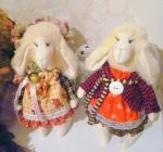 Новогодняя овечка Яна 30 см