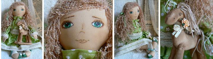 Купить оригинальную куклу ручной работы в подарок для женщины в Москве и Санкт-Петербурге