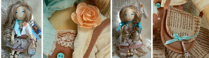 Коллекционная кукла Эмили ручной работы - vip подарок для женщины, которая любит Париж и оригинальные подарки